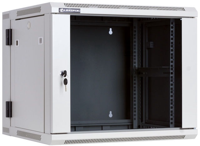 "LinkBasic Two-Section Hanging Cabinet 19"" 9U WCC09-655-BAB-C"