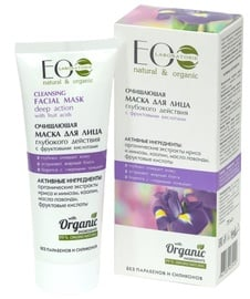 ECO Laboratorie Cleansing Facial Mask 75ml Fruit Acids