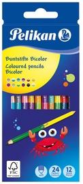 Pelikan Colored Pencils Bicolor 12pcs 700146