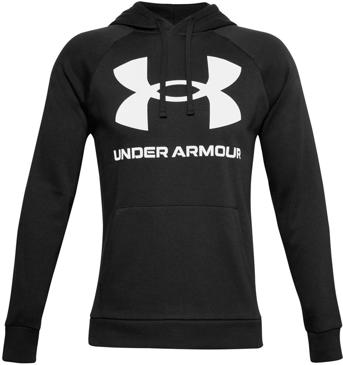 Джемпер Under Armour Rival Fleece Big Logo Hoodie 1357093-001 Black XL