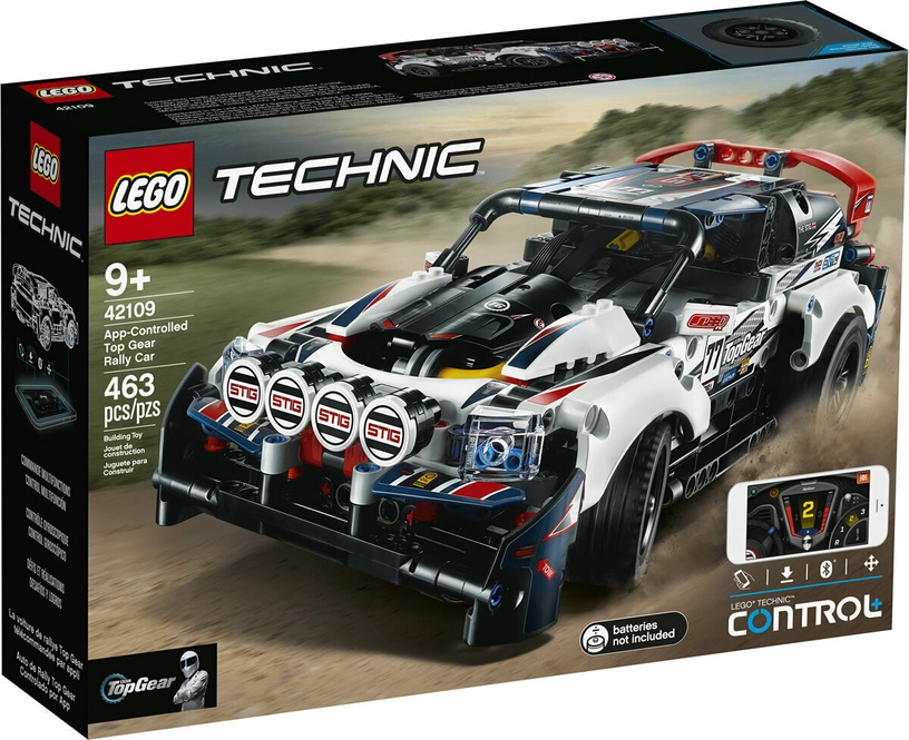 Конструктор LEGO Technic App Controlled Top Gear Rally Car 42109