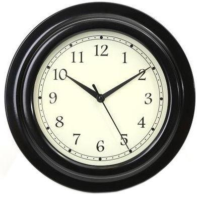 Platinet August Wall Clock Black