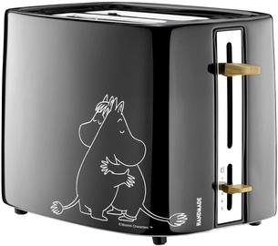 Тостер Moomin 11120B, черный