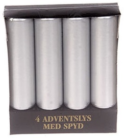Verners Christmas Advent Candles Silver 353165