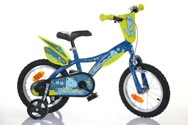 Vaikiškas dviratis Dinosaur 614K-DGE 14'