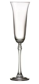 Taurių komplektas Bohemia Royal Crystal Fuchsia, 200 ml, 6 vnt