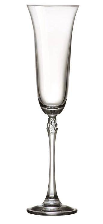 Šampanja klaas Bohemia Royal Crystal Fuchsia, 0.2 l, 6 tk