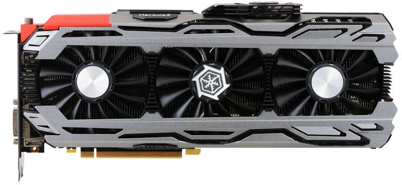 Inno3D iChill GeForce GTX 1070 X4 8GB GDDR5 PCIE C107V4-1SDN-P5DNX