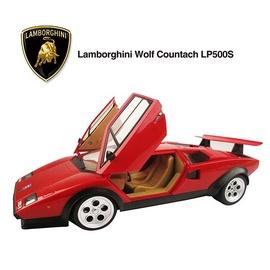 Žaislinė mašina Lamborghini Countach, raudona, juoda