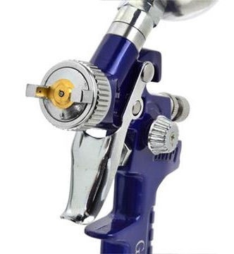 Аксессуары для окрашивания Geko G01185 HVPL Mini Spray Gun 0.8mm
