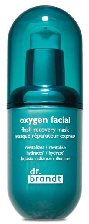 Veido kaukė Dr. Brandt Oxygen Facial Flash Recovery Mask, 40 ml