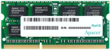 Apacer 8GB 1333MHz CL9 DDR3 SO-DIMM AS08GFA33C9TBGC