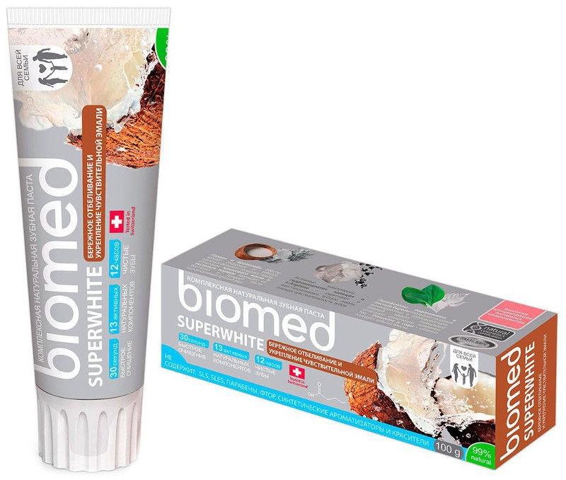 Dantų pasta Biomed Superwhite 100g