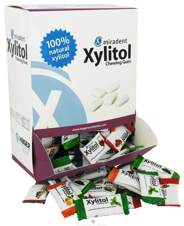 Miradent Xylitol Chewing Gum Mix 400pcs