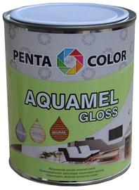 Krāsa Pentacolor Aquamel, 0.7kg, melna, spīdīga