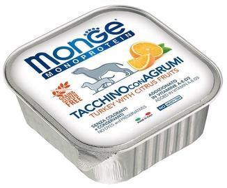 Monge Monoproteinic Fruits Pate Turkey/Citrus 150g