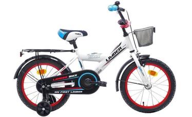 "Bērnu velosipēds Limber Monteria 20'', zila/balta/melna, 20"", 20"""
