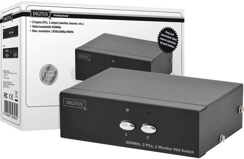 Digitus DS-44100-1 VGA Switch 2-Port