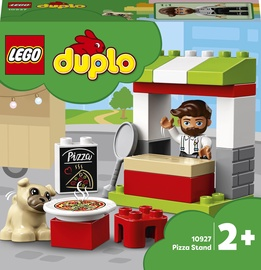 Konstruktor LEGO Duplo Pitsakiosk 10927, 18 tk