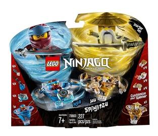 Konstruktorius LEGO Ninjago Spinjitzu Nya & Wu 70663