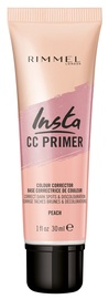 Maskuojanti priemonė Rimmel London Insta CC Primer Peach, 30 ml
