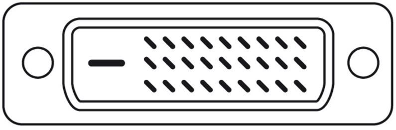 Assmann Adapter Cable Displayport-mini / DVI-D White 2m