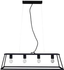 Verners Geometric Cage Light 4x60W E27 Black 060195