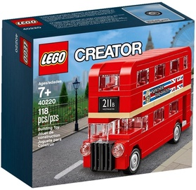 Konstruktorius LEGO Creator London Bus 40220