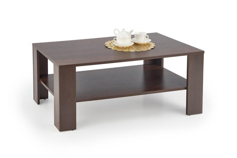 Kafijas galdiņš Halmar Kwadro, valriekstu, 1100x650x530 mm