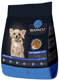 Buoncu Adult Toy Breed Lamb And Rice 1.5kg