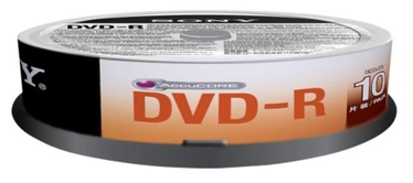 Sony DVD-R 4.7GB 16x 10 pcs