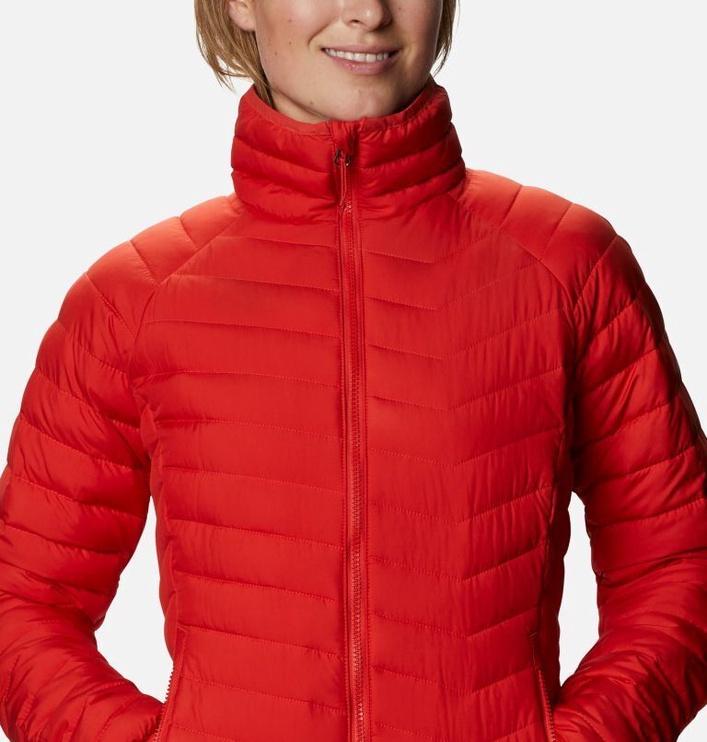 Columbia Powder Lite Womens Jacket 1699061843 Bold Orange S