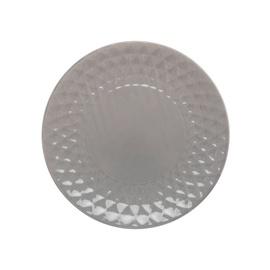 Desertinė lėkštė 2T8808, 19,5 cm, pilka