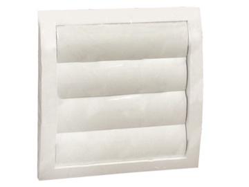 Ventilācijas reste Europlast N190X190mm, regulējama, balta