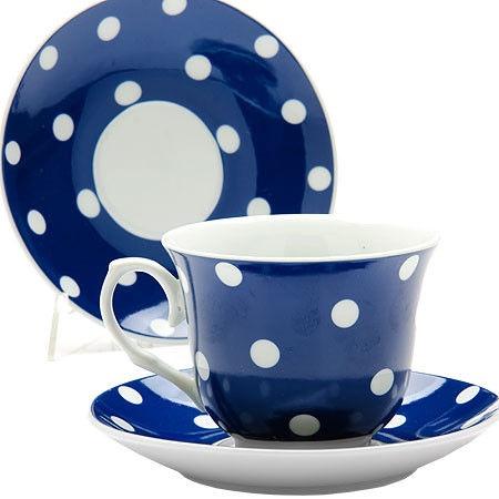 Mayer & Boch Tea Set 22cl Blue 6pcs 25905
