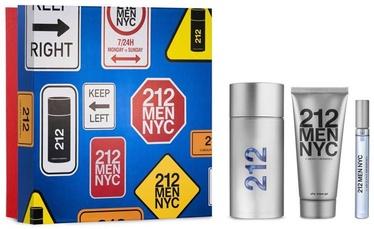 Carolina Herrera 212 NYC Men 3pcs Set 220ml EDT