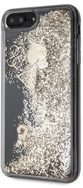 Guess Glitter Hearts Back Case For Apple iPhone 7 Plus/8 Plus Gold