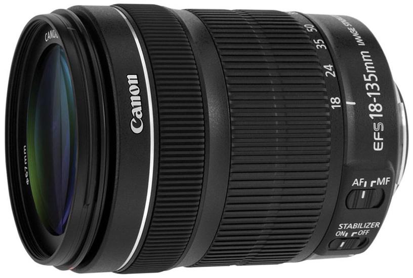 Objektiiv Canon EF-S 18-135/3.5-5.6 IS STM OEM, 480 g