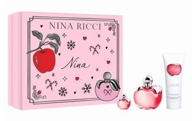 Набор для женщин Nina Ricci Nina 50 ml EDT + 75 ml Body Lotion + 4 ml EDT