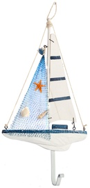 Home4you Wall Hanger Sail Boat 85231