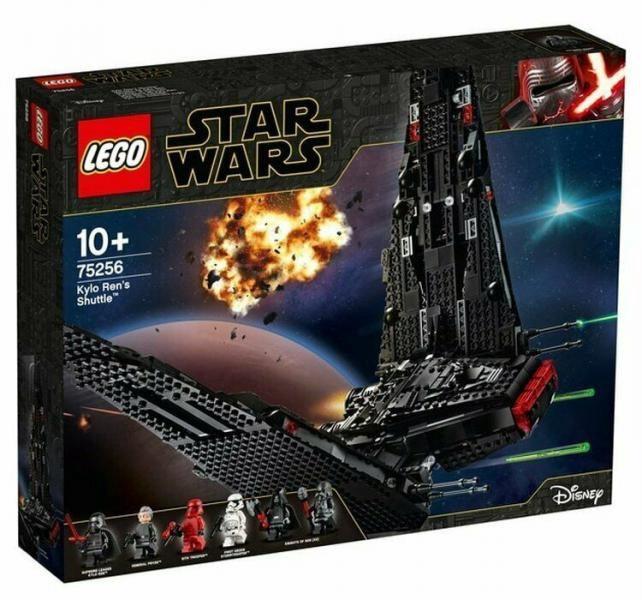 Конструктор LEGO Star Wars Kylo Ren's Shuttle 75256 75256, 1005 шт.