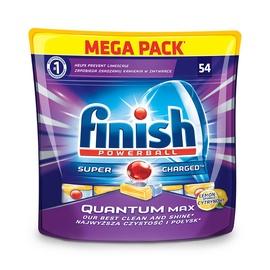 Indaplovių tabletės Finish Quantum Max, 54 vnt.