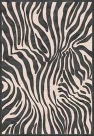 Paklājs Verbatex Farashe 121/473343, melna/pelēka, 200x140 cm