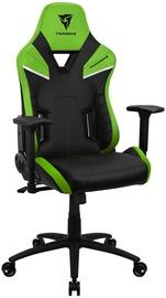Игровое кресло Thunder X3 TC5 Neon Green, черный/зеленый