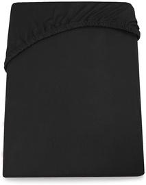DecoKing Amelia Bedsheet Black 80-90x200