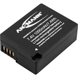 Ansmann A-PAN Rechargeable Battery DMW-BLC12 LI 7.4V/ 1000mAh