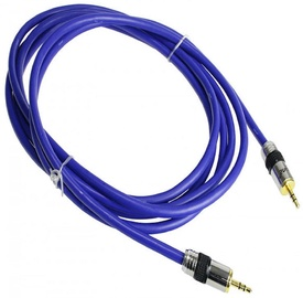 InLine Jack Cable 3.5mm 5m Blue