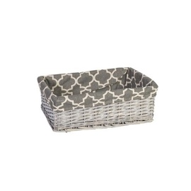 Home4you Basket Max 3 48x34xH16cm Antique Gray