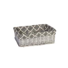 Home4you Basket Max 3 48x34xH16cm Antique Gray