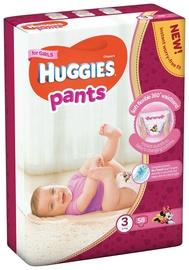 Sauskelnės Huggies Pants Girl, 3 dydis, 58 vnt.